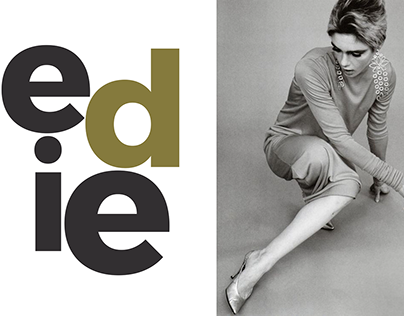 Magazine spread in the style of Fabien Baron