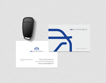 AV AUTOMOBILE - Visual Brand