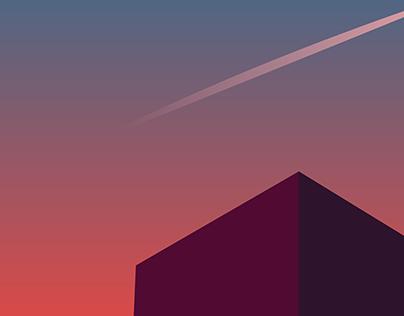 Senja di kota | Silent Dusk in The City