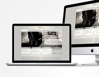Sure Gold Website Design