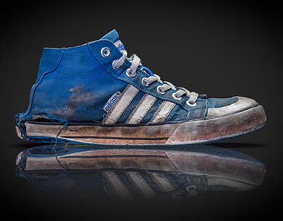 My Wrecked Sneaker