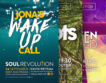 Soul Revolution Posters