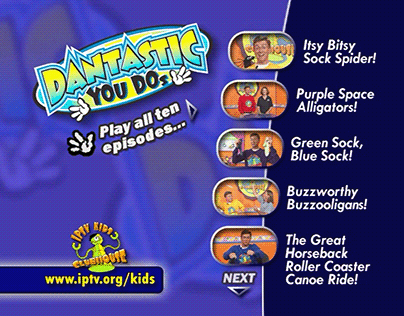 Dantastic You Dos | DVD Menus