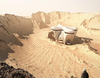 3D Printed Mars Shelter