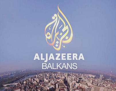 AL JAZEERA Balkans / Weather Forecast Design