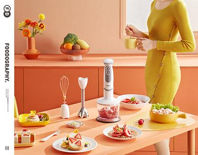 小家电摄影small home appliances | 博朗绞肉机BRaun ✖ foodography