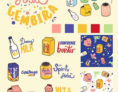 Soda Gembira Pattern (2019)