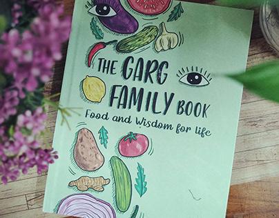 Cookbook/Recipe book design