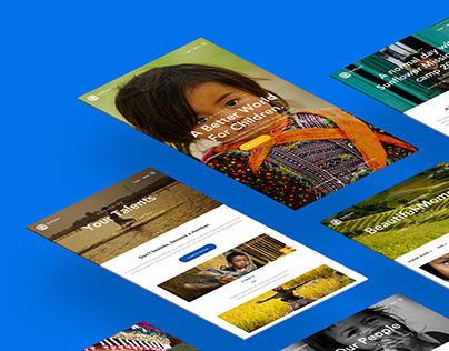 Sunflower Mission Website Redesign