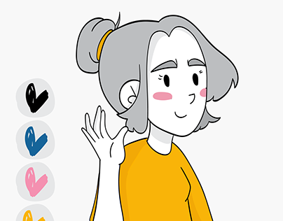 Personaje para webcomic
