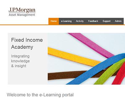 Academy website for J.P. Morgan