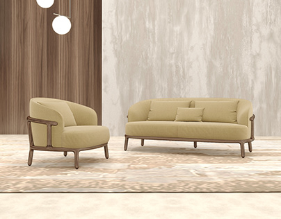 Rola Sofa and Amrchair
