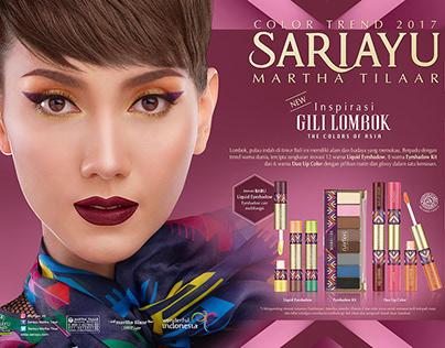 Sariayu Color Trend 2017 - Inspirasi Gili Lombok