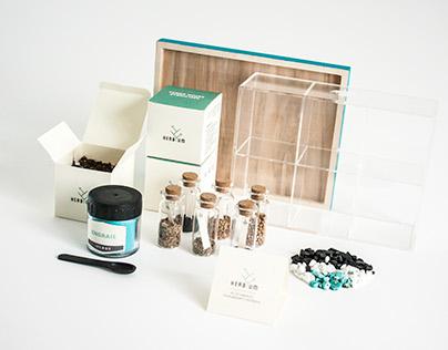 HERBYUM - Branding et packaging