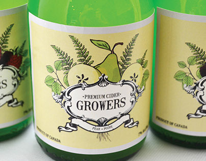 Growers Cider Rebrand