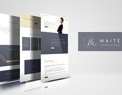 MC | Création identité visuelle et site web vitrine