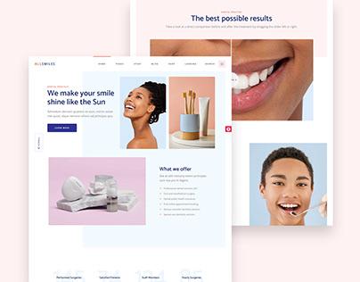 Dental booking website