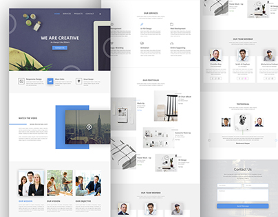 Simple Agency Template