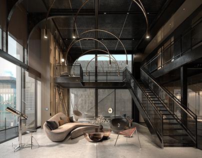 Moonraker - Industrial Loft in LA by Patrick Ng Studio