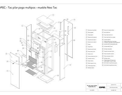 Planos de mueble 03 para Compomet Industrial