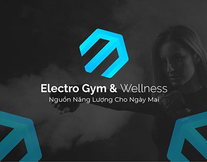 ELECTRO GYM & WELLNESS - LOGO DESIGN