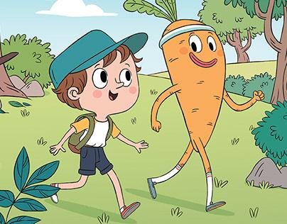 Bobby in the Vegetable Kingdom