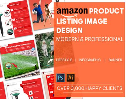 Professional Amazon Listing Image & A+ Content Design