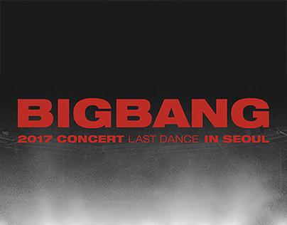 BIGBANG 2017 CONCERT LAST DANCE IN SEOUL MD