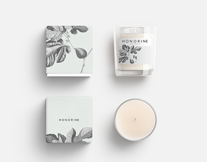 HONORINE - candle packaging project