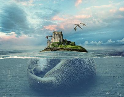 Mysterious Island / Photo manipulation