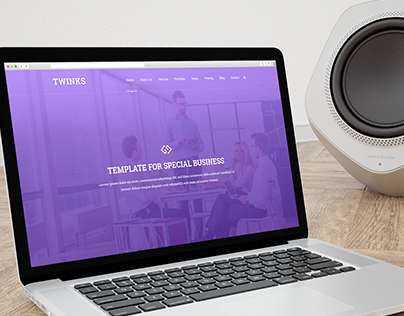 Twinks - Multiple pages PSD Business Template