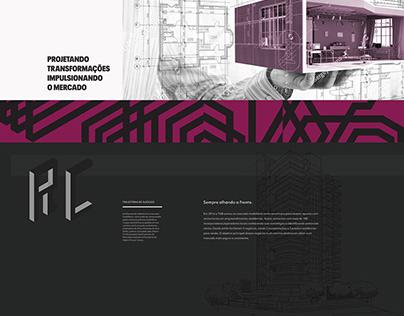 Portal web TGB - primeira versão.