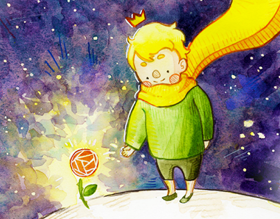 The Little Prince and the Flower