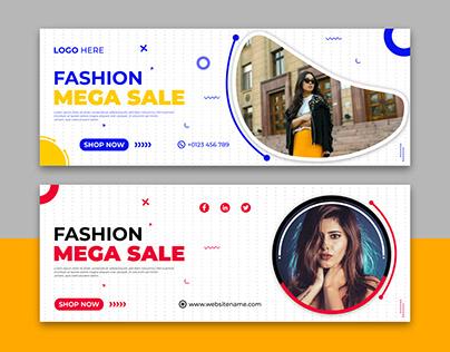 Facebook Cover Banner Design, Social Media Cover Design