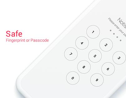 Notisave App Design
