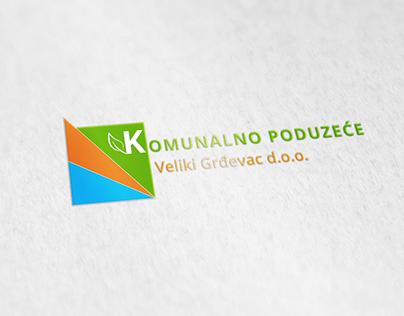 Logo Design - Komunalno poduzece Veliki Grdevac