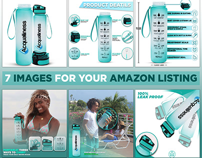 Water Bottle Product listing | for Amazon
