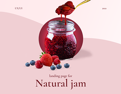 Landing page for Natural jams