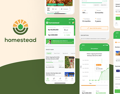 Homestead - Agricultural Investment Platform