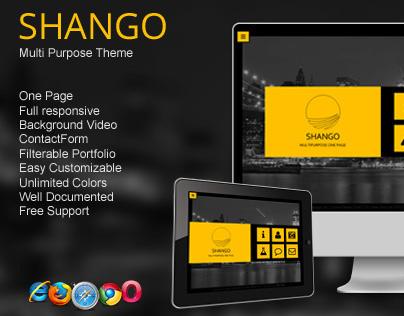Shango - Multipurpose Html5 Theme