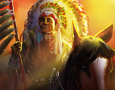 Red Indian - Tribal Chief