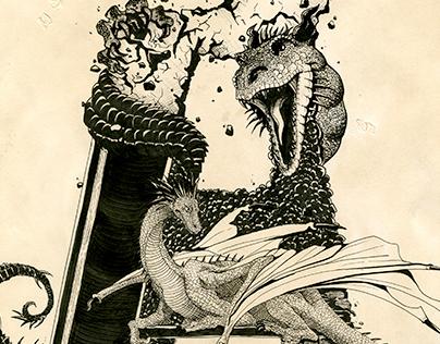 """""""A"""" Dragon"""