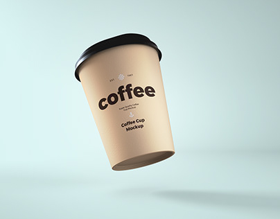 Take a way coffee cup mockup