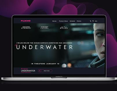 Filmimo/ Cinema Website Concept