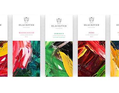 Blackriver packaging design
