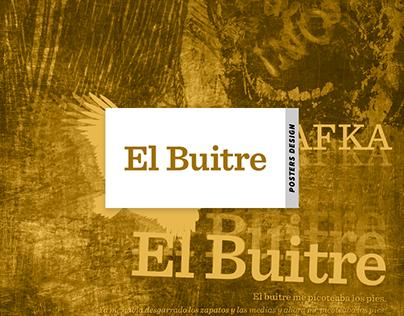El Buitre - Posters [Sistema de 3 Piezas]