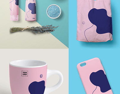 Well-being Branding and Products Visuals