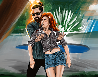 My dream: Me and Scarlett Johansson
