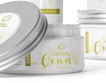 Orna, Organic Salon and Boutique Branding