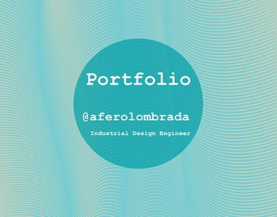 Industrial Design Portfolio @aferolombrada